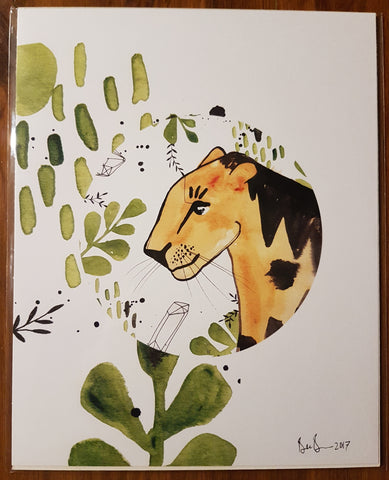 Jungle Cat Print