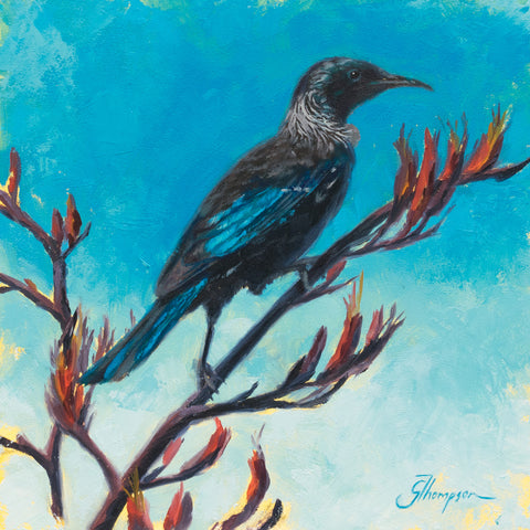 Tui at Patons Rock - Giclee Print