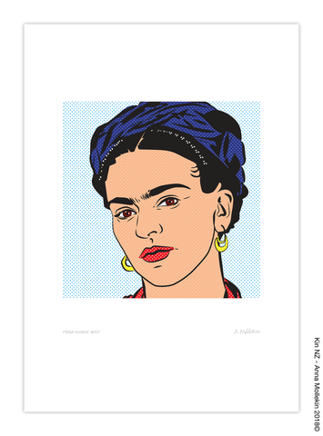 Frida Knows Best Print