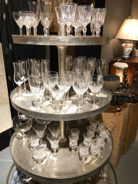 Vintage crystal glass, Brand New