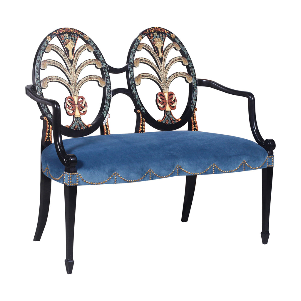Two seater Classical furniture Jansen Brand hk, French Two Seater Chair Furniture HK, Jansen Classical Furniture HK