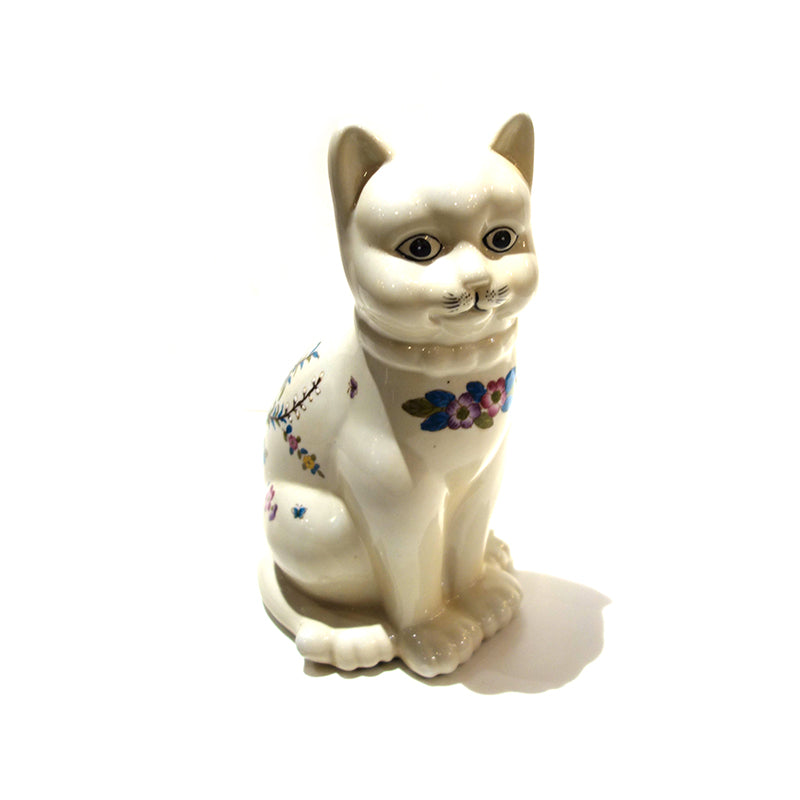 Waiting Cat  Ceramic old