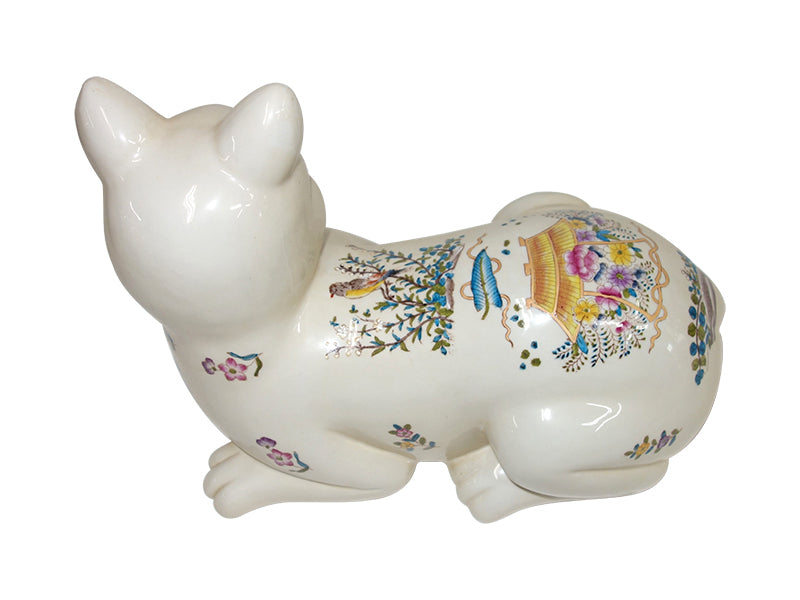 Relaxing Cat Ceramic, old