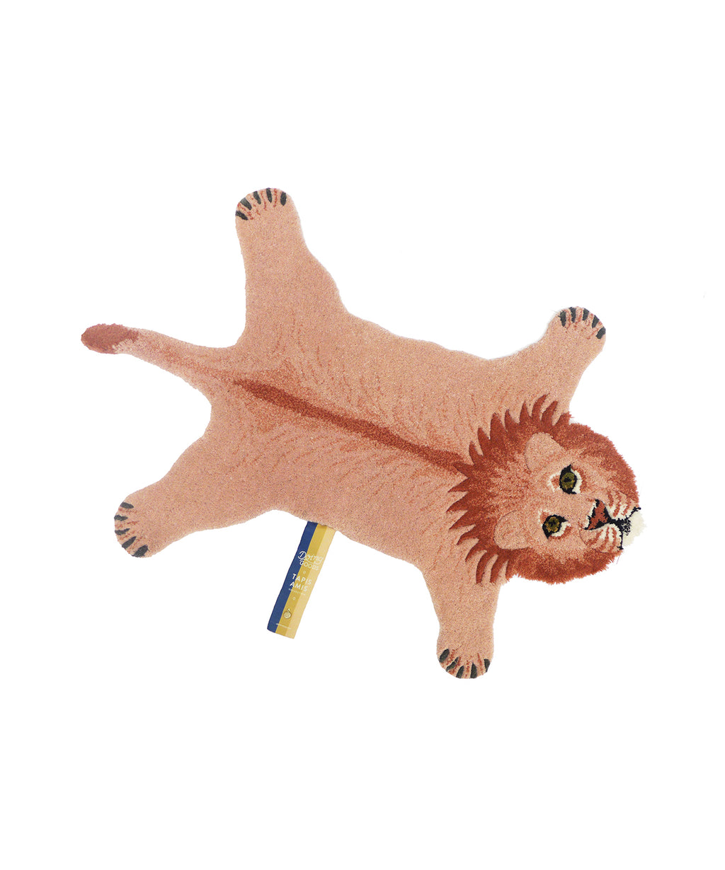 kid's rug in lion,