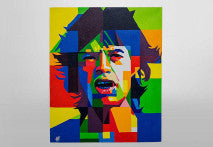 A Painting of legendary Pop Rock star and Front-man of the greatest band of all time-Mick Jagger, is the must- have item to every Rolling Stone fan.