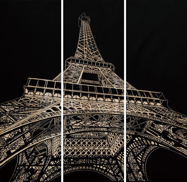 Painting - Eiffel Tower