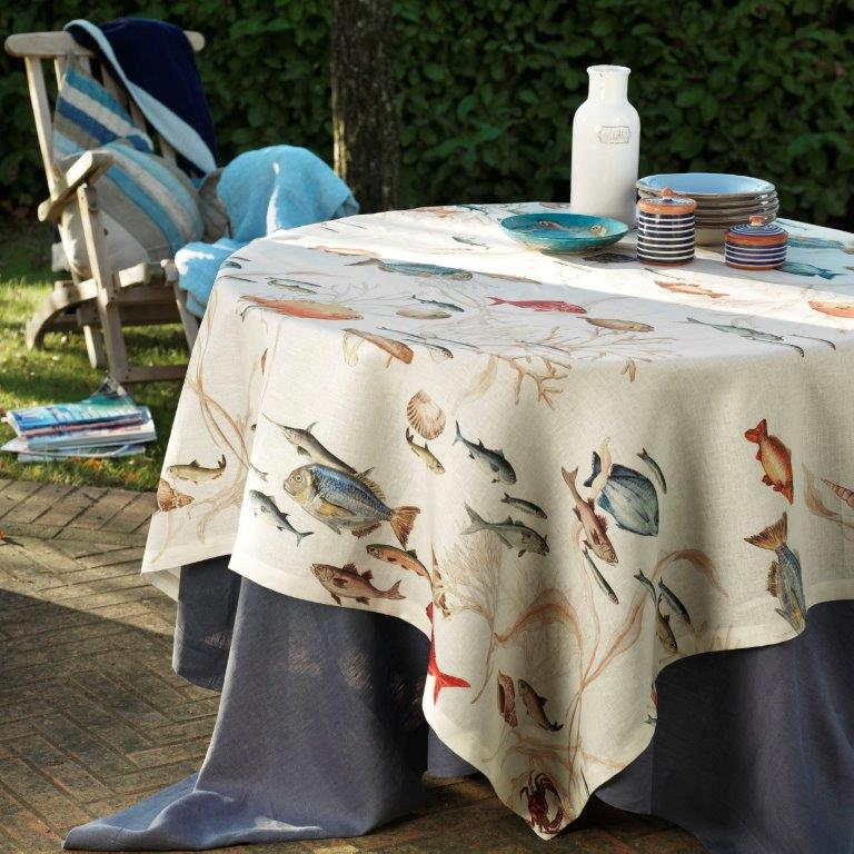 Tablecloth, LA MER Cream