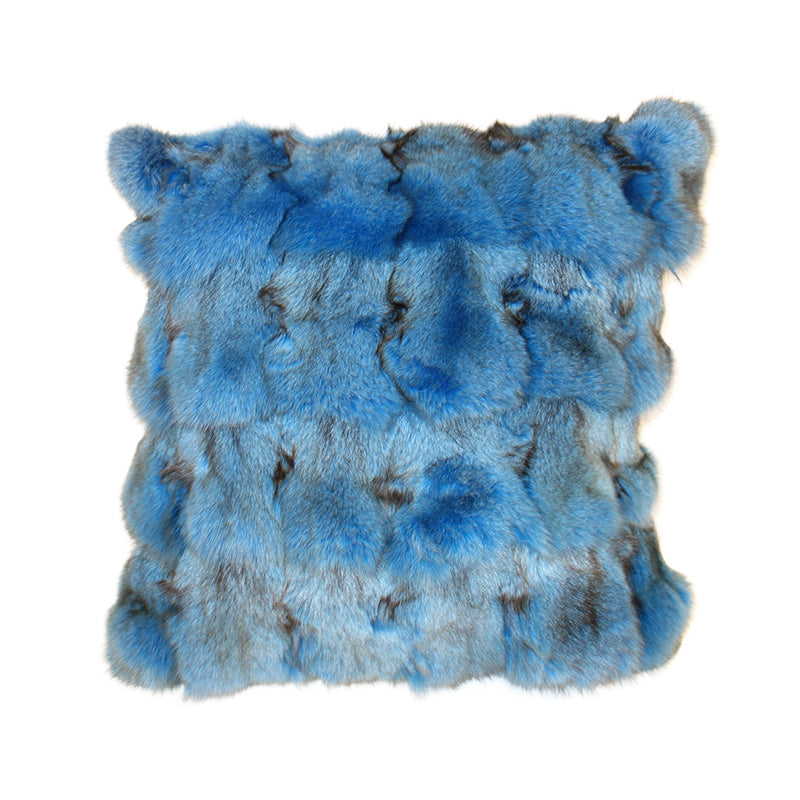 Cushion fox Blue