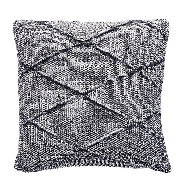 Denmark brand- Hübsch grey cotton cushion