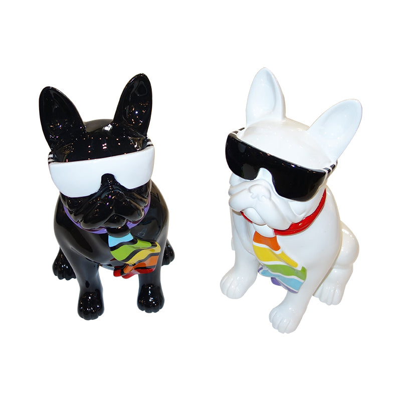 French bulldog, fibre glass