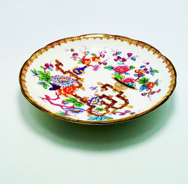 Vintage English porcelain saucers
