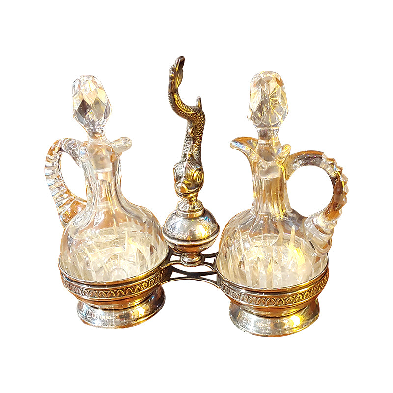 Silver Oil & Vinegar set