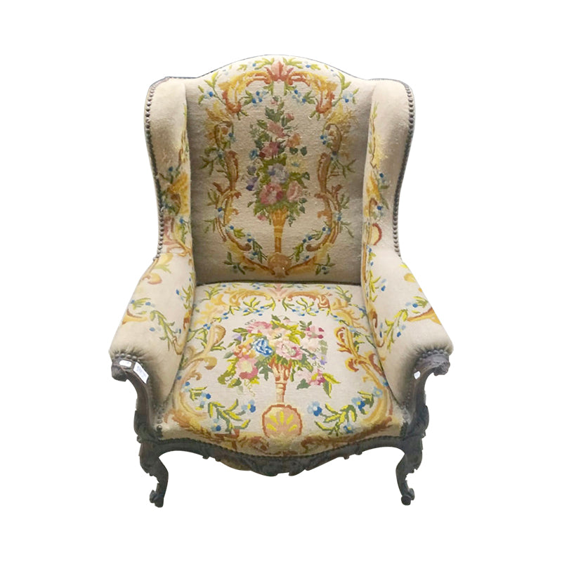 A LOUIS XV STYLE SHEEP BERGERE