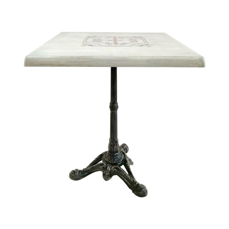 wrought iron Bistro table from France, vintage