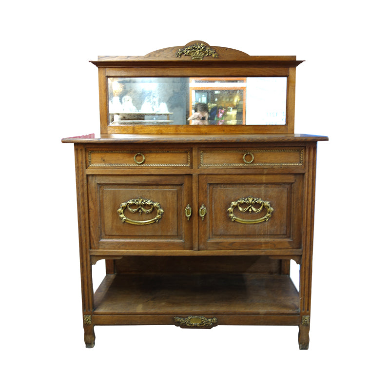Art Nouveau  buffet,  Vintage French wine buffet