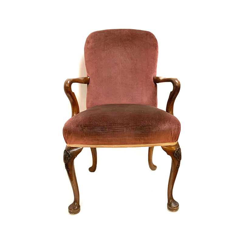 Banquet arm chair in the George II manner