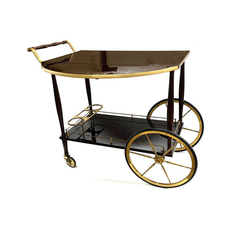Art Deco wine cart