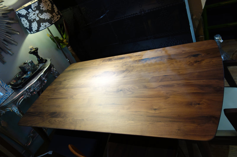 Edo  walnut dining table