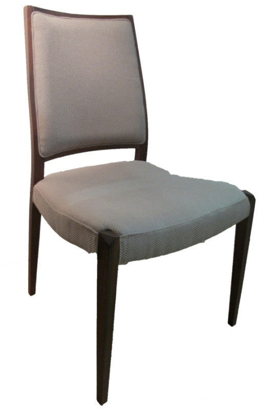Elegant armrest coupled with beautiful upholstered details, Isan chair is a modern classic dining armchair provides  comfortable dining experience. Solid walnut.