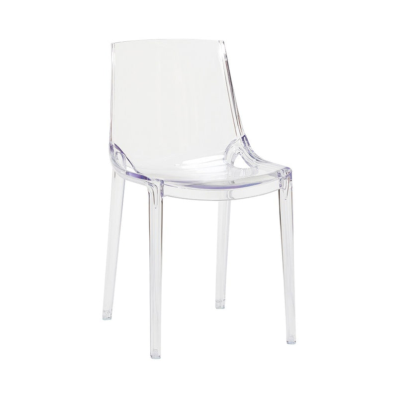 Paris chair elegant acrylic chair denmark brand- Hübsch.