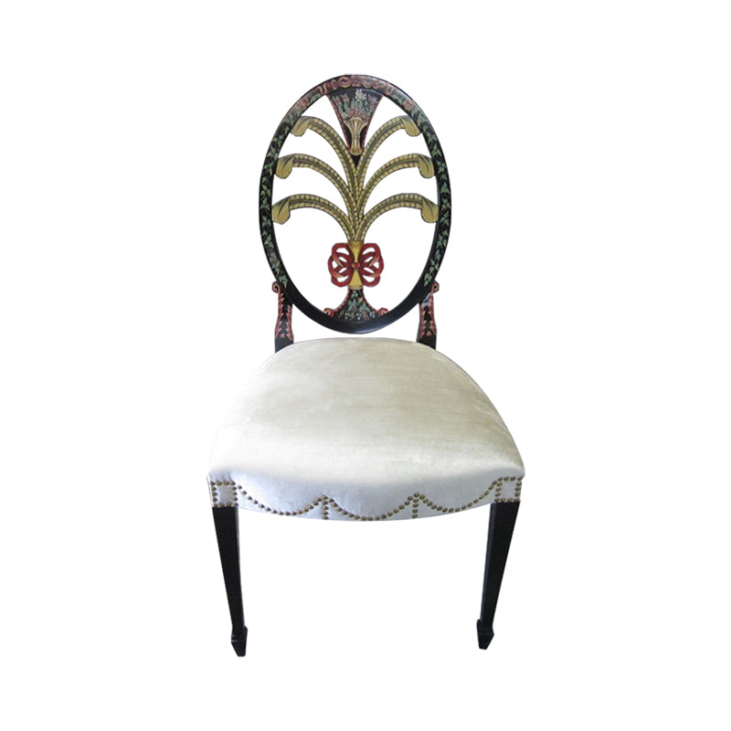 Side Chair Hepplewhite Oval Back