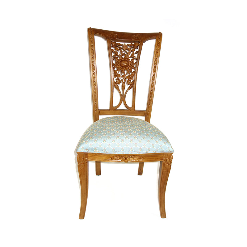 classical teak dining chair