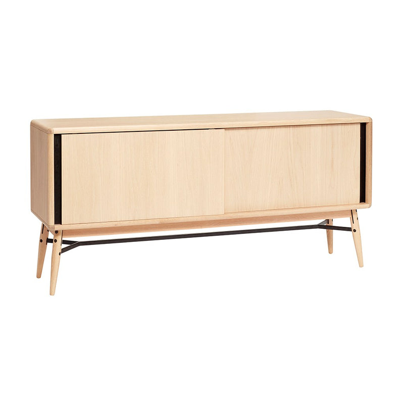 Nordic TV cabinet in oak simple Hubsch