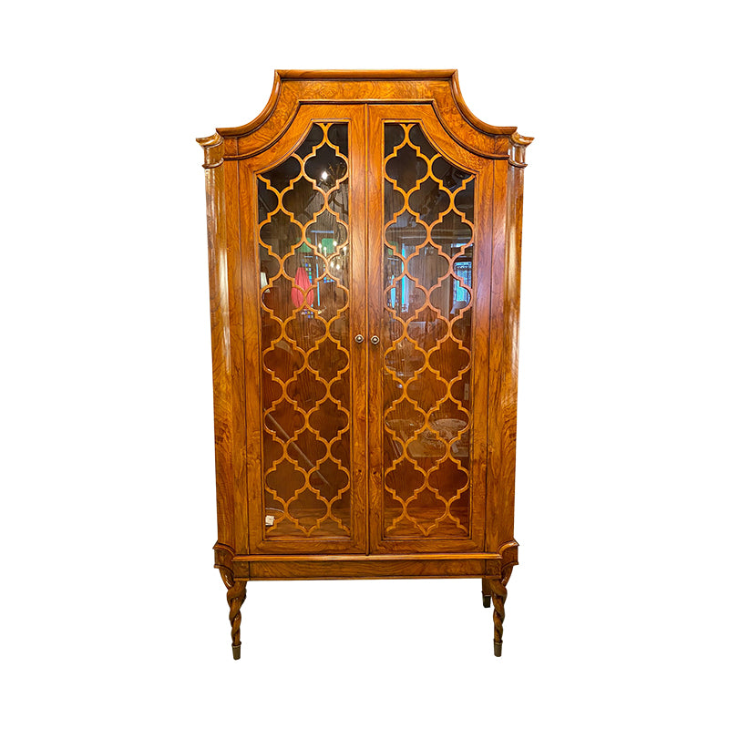 Display Cabinet 2 Door Alexander, With LED