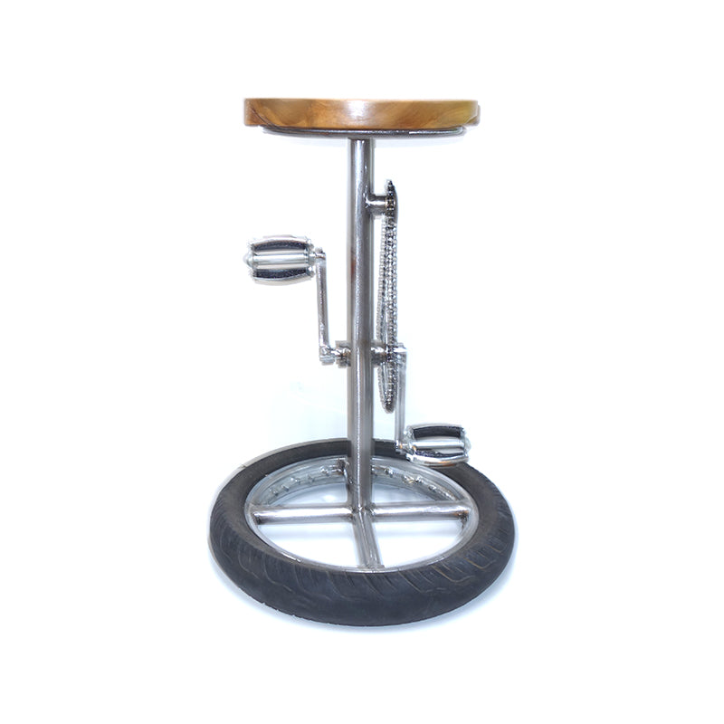 Saddle Bar Chair-Teak