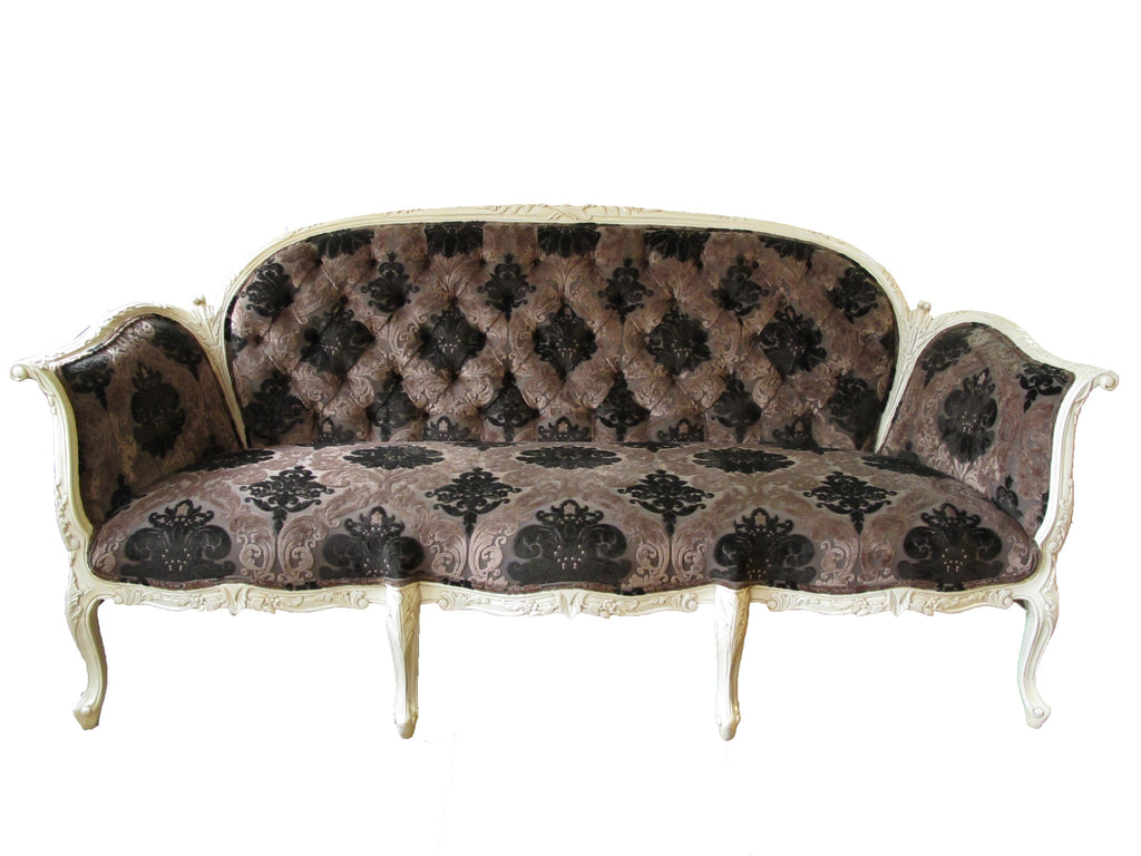 classic French  fabric sofa