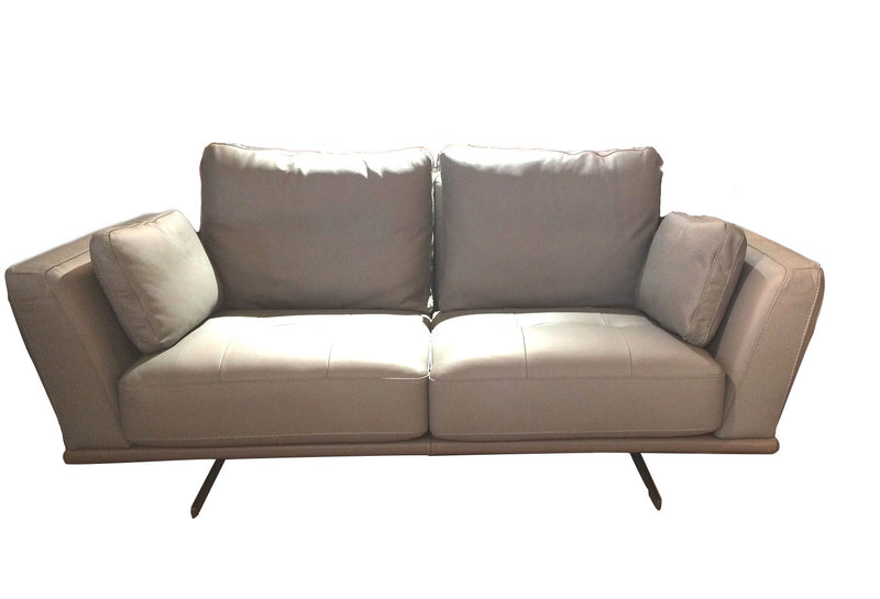 Parma is epitome of Italian made sofa with styles, characters and strong built.  Uphlostered in top grain leather on unique chrome legs, all the padding inside uses Eurpean standard foam and frames, it will provide a long lasting comfort and enjoyment.