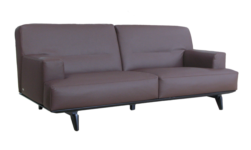 Combining best French craftsmanship and the most soft leather, Ibizia  brings top comfort to a stylish sofa.  Using 20mm thick top grain leather, and steel support underneath, Ibiza provide just right amount of comfort without sloughing too much. it's sofa made for daily enjoyment and healthy bodycare