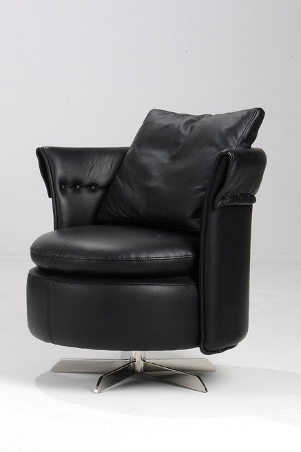 Leather Swivel leisure Chair
