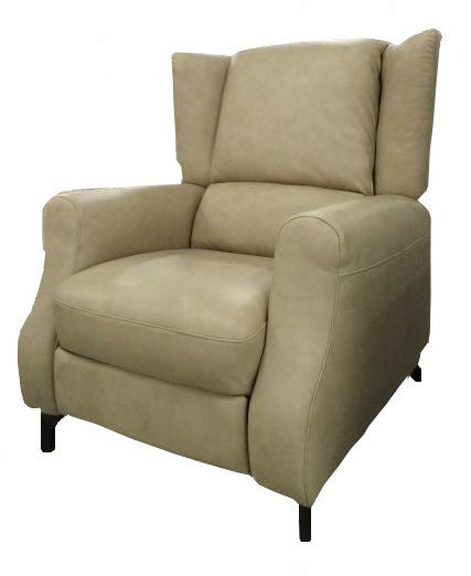 Recliner sofa real leather , full extendable