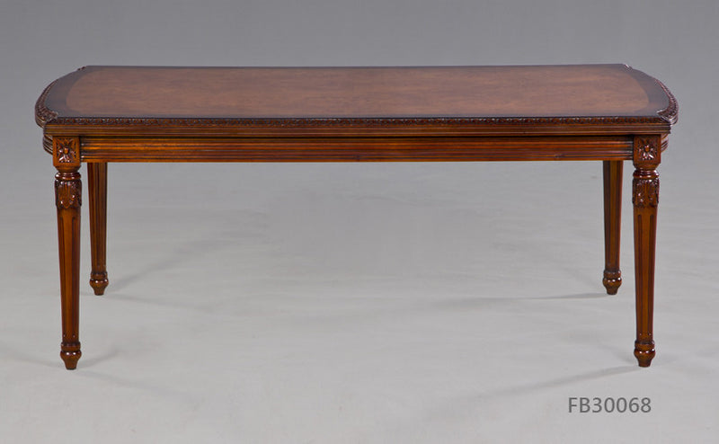 Coffee Table made from solid mahogany with simple and elegant design, it can matches with many sofa and chair.