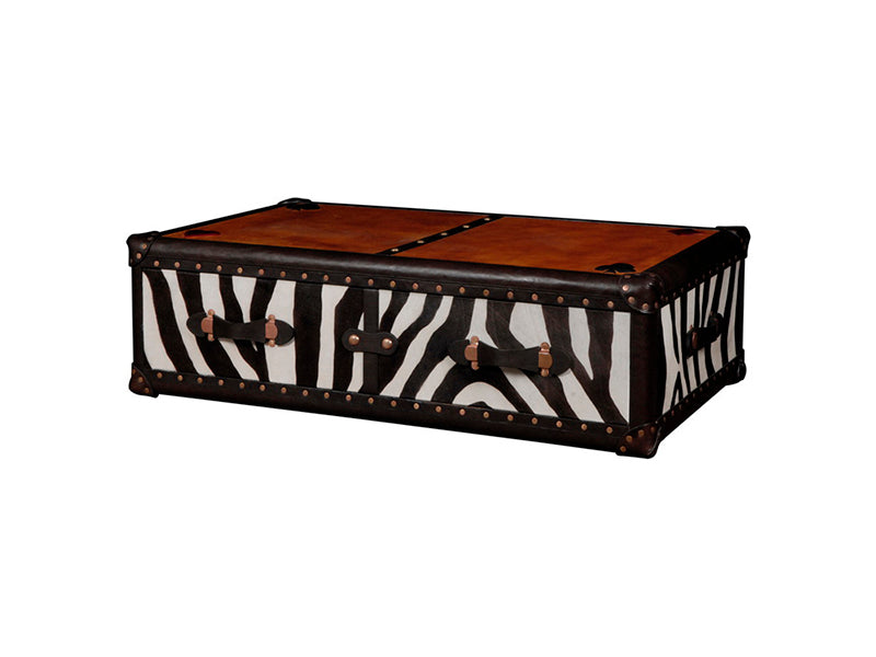 Zebra Coffee Table