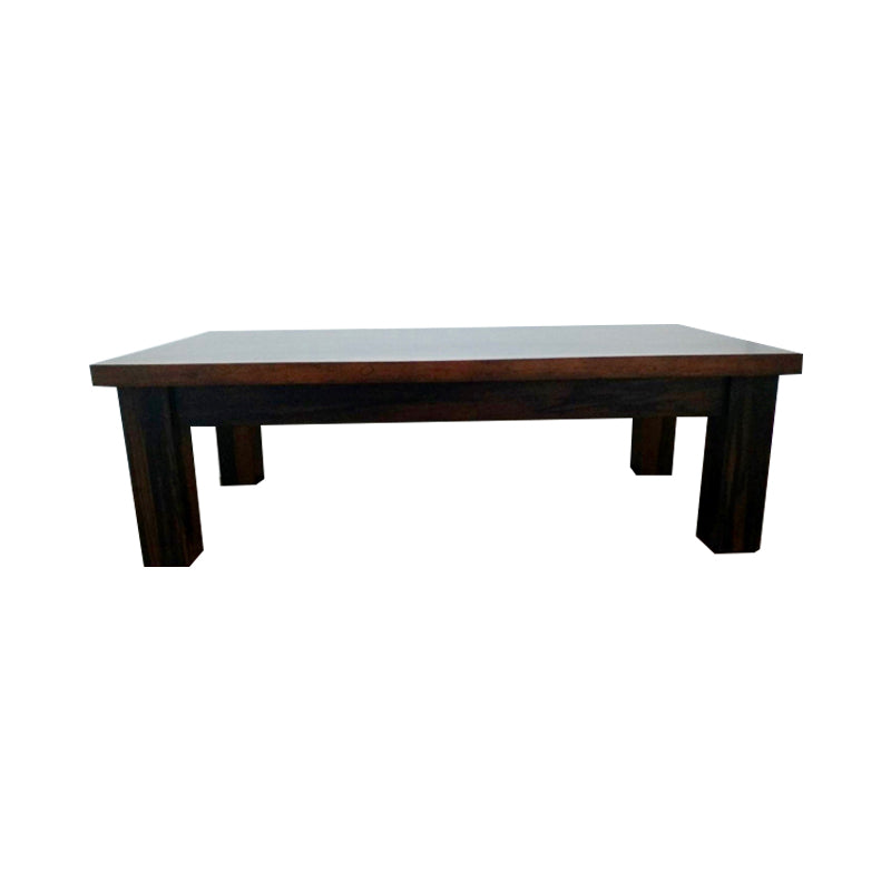 solid ebony wood coffee table timeless in simple style