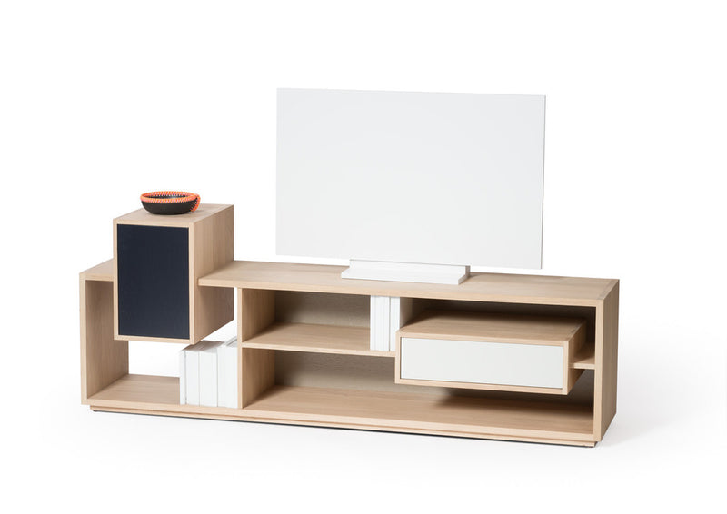 France Drugeot Labo media unit in oak wood