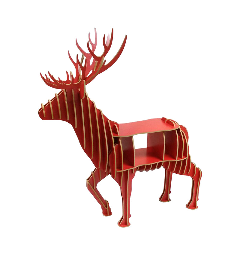 Deer sculpture  cabinet, wine cabinet, storage cabinet, whimiscal form cabinet