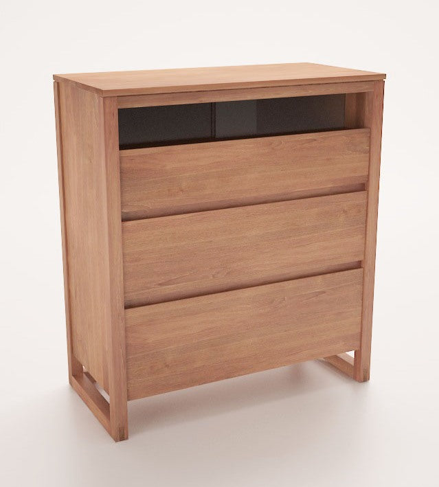 recycle teak chest of drawers