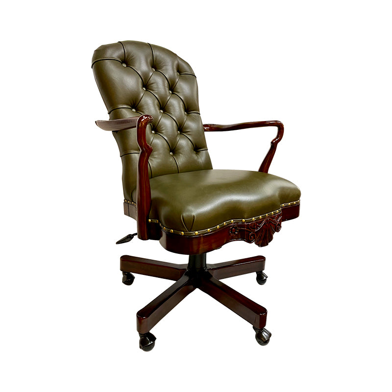 Office Chair Oxford, Leather