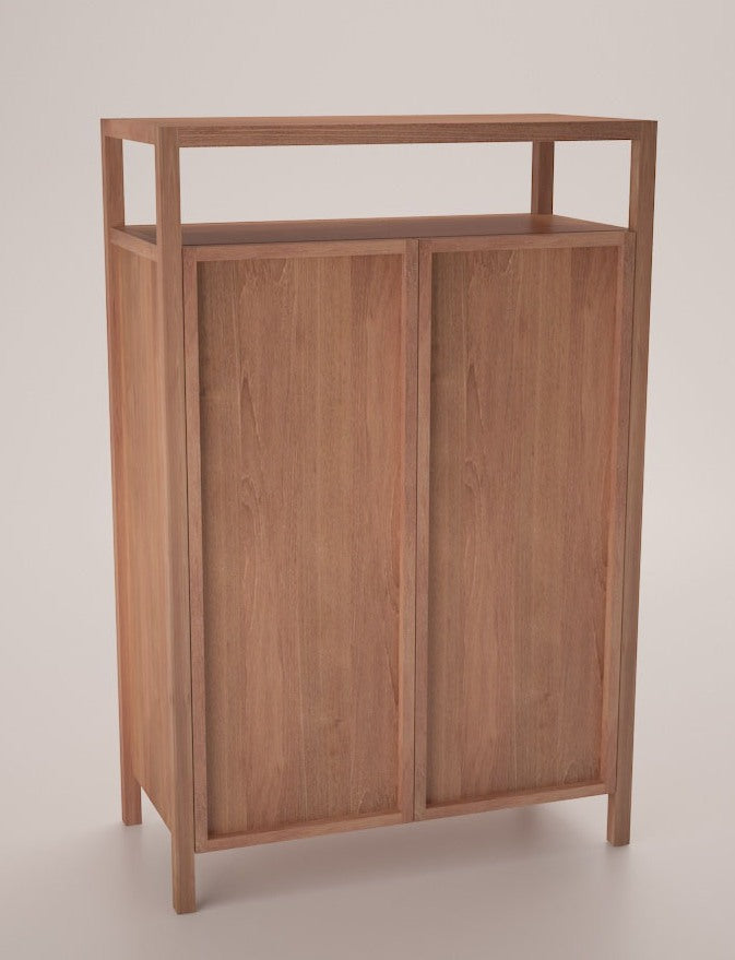 Stanley Shoe Cabinet Is Well Equiped With 2 Drawers And 5 Shelves. Made Of  Old