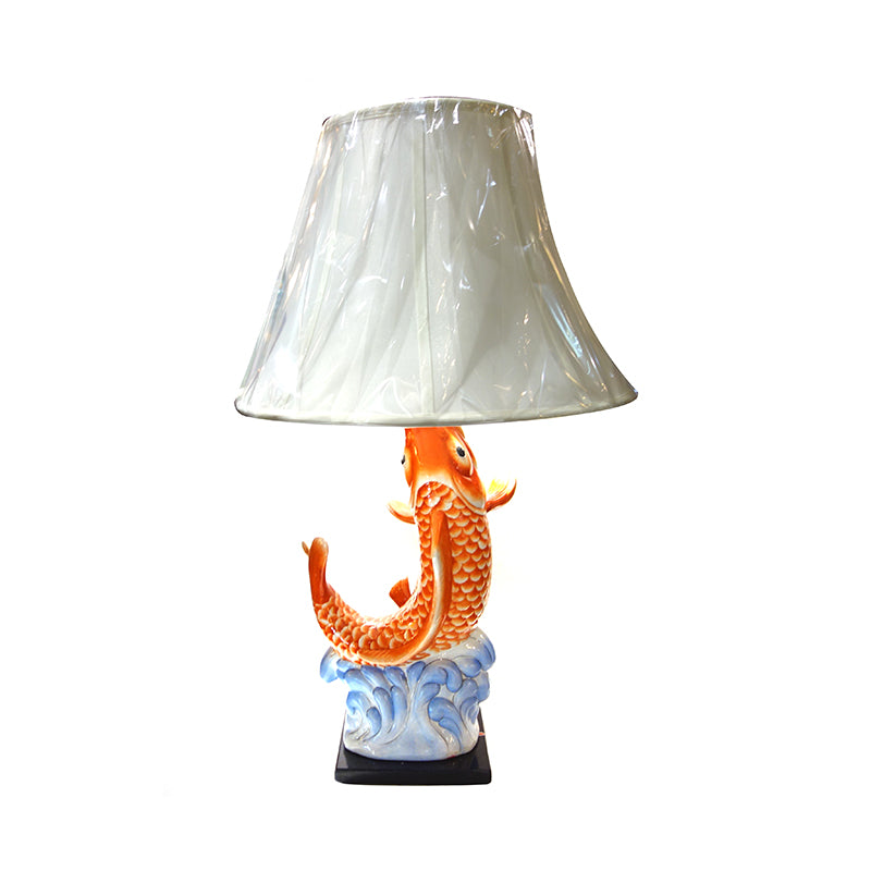 Ceramic Carp Table Lamp