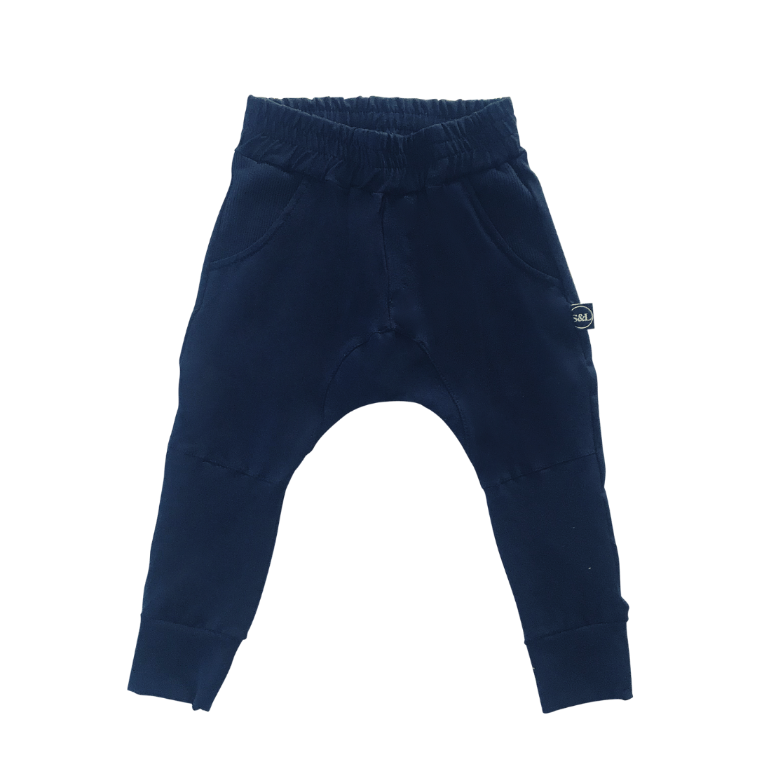 The Lexi Track Pant - Ink - Sebi & Lucas