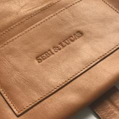 Leather Nappy Wallet - Sebi & Lucas