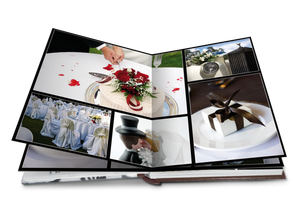 A4 Wedding Album