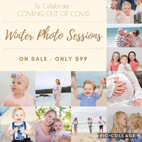 Winter Special Photography Session $99