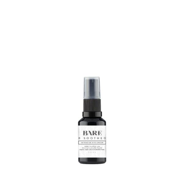 B soothed, eye cream.  100% natural skincare, vegan, connect, natural skincare, organic.