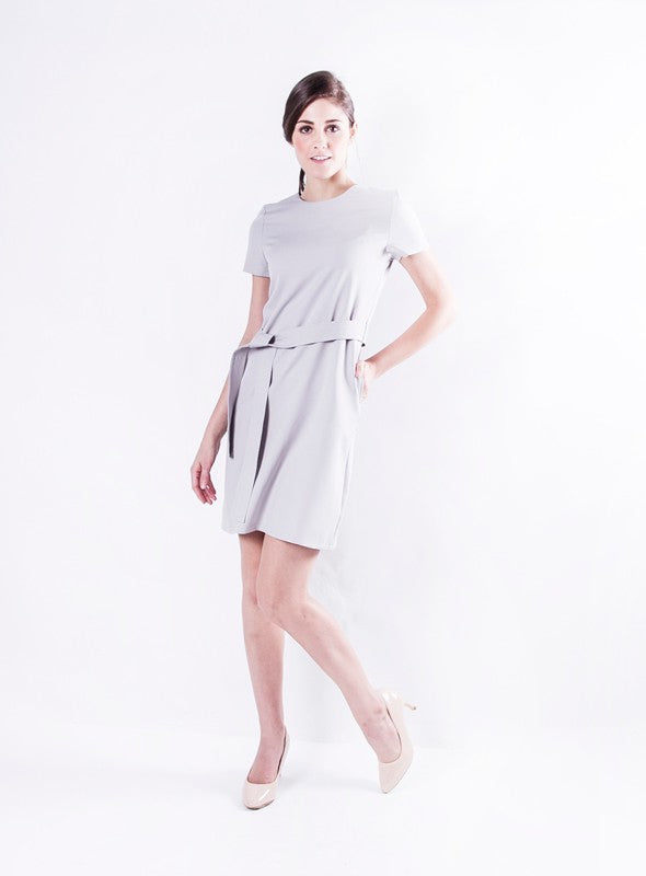 Dannelle Dress in Grey