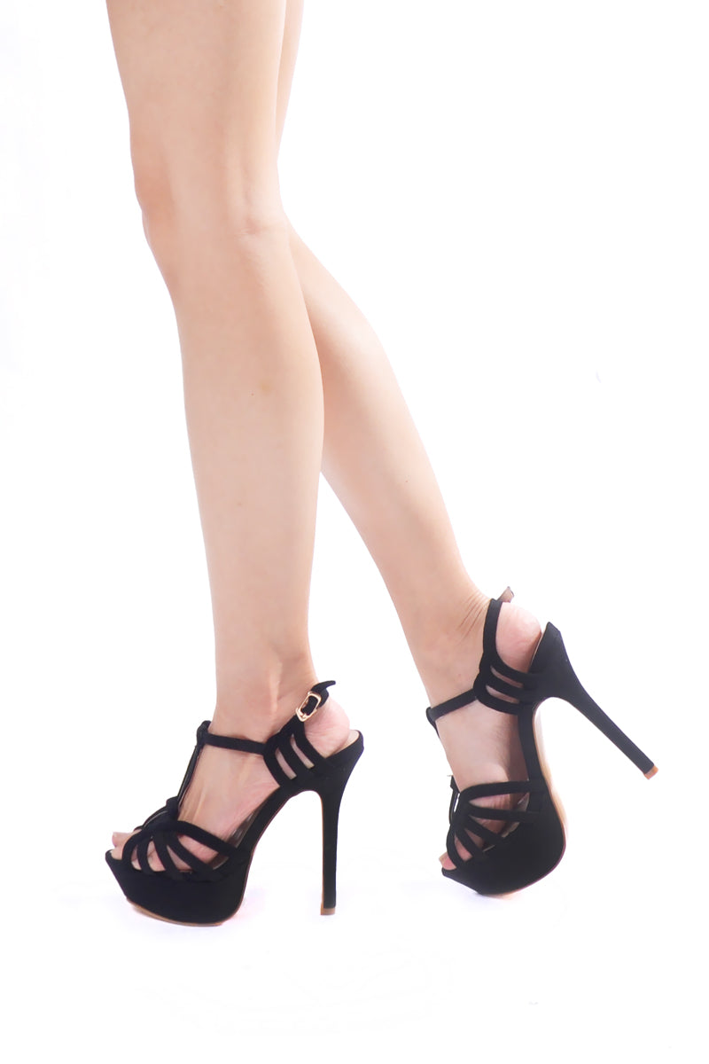 Harmony Heels in Black
